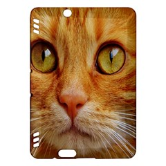 Cat Red Cute Mackerel Tiger Sweet Kindle Fire HDX Hardshell Case