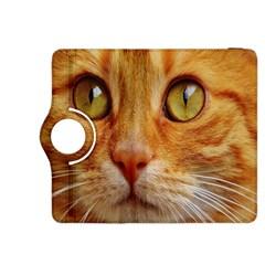Cat Red Cute Mackerel Tiger Sweet Kindle Fire HDX 8.9  Flip 360 Case