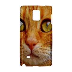 Cat Red Cute Mackerel Tiger Sweet Samsung Galaxy Note 4 Hardshell Case