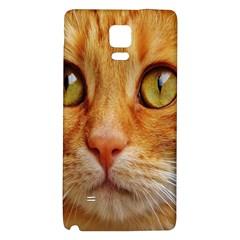 Cat Red Cute Mackerel Tiger Sweet Galaxy Note 4 Back Case