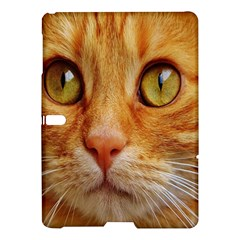 Cat Red Cute Mackerel Tiger Sweet Samsung Galaxy Tab S (10.5 ) Hardshell Case