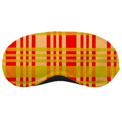 Check Pattern Sleeping Masks