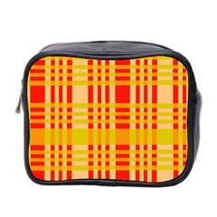 Check Pattern Mini Toiletries Bag 2-Side