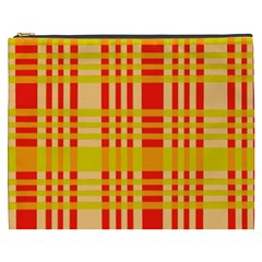 Check Pattern Cosmetic Bag (XXXL)