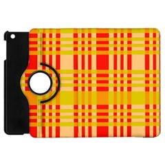 Check Pattern Apple iPad Mini Flip 360 Case