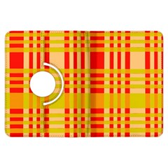 Check Pattern Kindle Fire Hdx Flip 360 Case