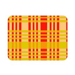 Check Pattern Double Sided Flano Blanket (Mini)