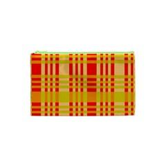 Check Pattern Cosmetic Bag (XS)