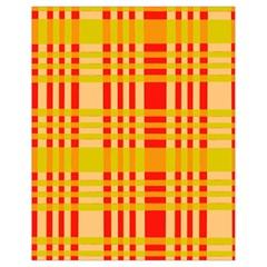 Check Pattern Drawstring Bag (Small)