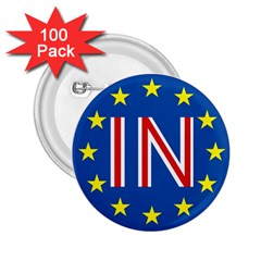 Britain Eu Remain 2.25  Buttons (100 pack)