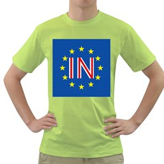 Britain Eu Remain Green T-Shirt