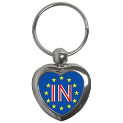 Britain Eu Remain Key Chains (Heart)