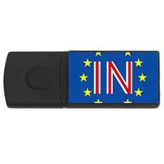 Britain Eu Remain USB Flash Drive Rectangular (2 GB)