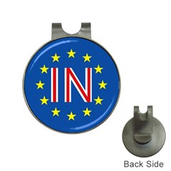 Britain Eu Remain Hat Clips with Golf Markers