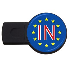 Britain Eu Remain USB Flash Drive Round (4 GB)
