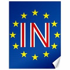 Britain Eu Remain Canvas 18  x 24