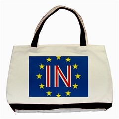Britain Eu Remain Basic Tote Bag (Two Sides)