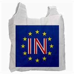 Britain Eu Remain Recycle Bag (One Side)