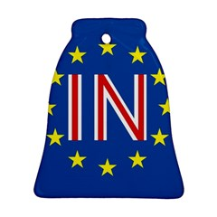 Britain Eu Remain Bell Ornament (Two Sides)