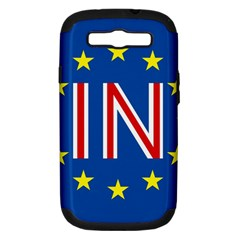 Britain Eu Remain Samsung Galaxy S III Hardshell Case (PC+Silicone)