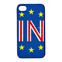 Britain Eu Remain Apple iPhone 4/4S Hardshell Case with Stand