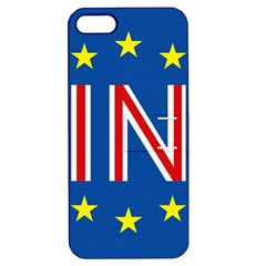 Britain Eu Remain Apple iPhone 5 Hardshell Case with Stand