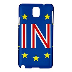 Britain Eu Remain Samsung Galaxy Note 3 N9005 Hardshell Case