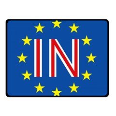 Britain Eu Remain Double Sided Fleece Blanket (Small)