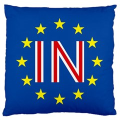 Britain Eu Remain Standard Flano Cushion Case (Two Sides)