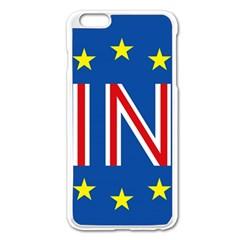 Britain Eu Remain Apple Iphone 6 Plus/6s Plus Enamel White Case