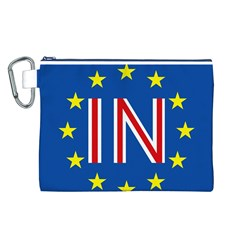 Britain Eu Remain Canvas Cosmetic Bag (L)