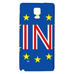 Britain Eu Remain Galaxy Note 4 Back Case