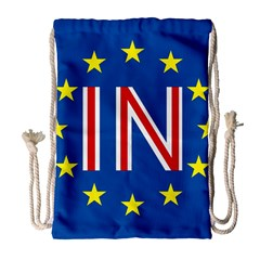 Britain Eu Remain Drawstring Bag (Large)