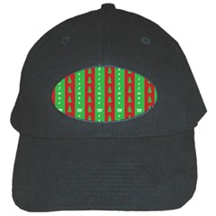 Christmas Tree Background Black Cap