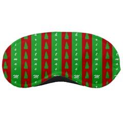 Christmas Tree Background Sleeping Masks