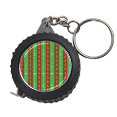 Christmas Tree Background Measuring Tapes