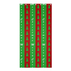 Christmas Tree Background Shower Curtain 36  x 72  (Stall)