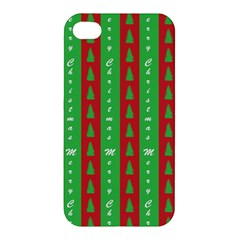 Christmas Tree Background Apple iPhone 4/4S Hardshell Case