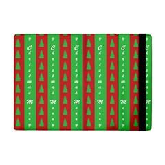 Christmas Tree Background Apple iPad Mini Flip Case