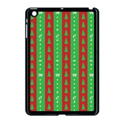 Christmas Tree Background Apple iPad Mini Case (Black)