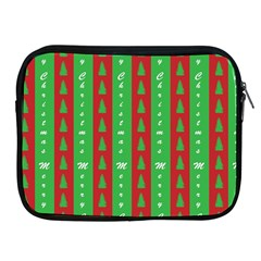Christmas Tree Background Apple Ipad 2/3/4 Zipper Cases