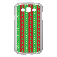 Christmas Tree Background Samsung Galaxy Grand DUOS I9082 Case (White)