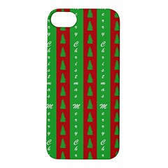 Christmas Tree Background Apple iPhone 5S/ SE Hardshell Case