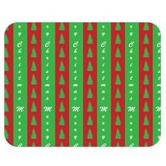 Christmas Tree Background Double Sided Flano Blanket (Medium)