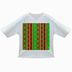 Christmas Paper Pattern Infant/Toddler T-Shirts