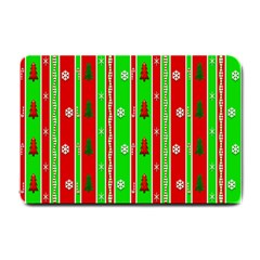 Christmas Paper Pattern Small Doormat