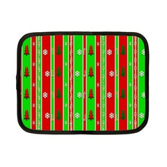 Christmas Paper Pattern Netbook Case (Small)