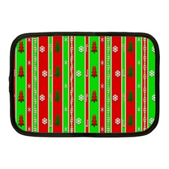Christmas Paper Pattern Netbook Case (Medium)