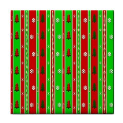 Christmas Paper Pattern Face Towel