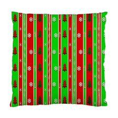 Christmas Paper Pattern Standard Cushion Case (Two Sides)